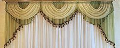 Химчистка шторы на дому